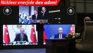 Son dakika... Nükleer enerjide dev adım Erdoğan: 4 bin kişiye istihdam... Putin: Yeni bir dönem başlıyor