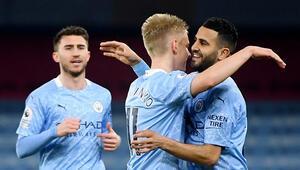Lider Manchester City farklı kazandı