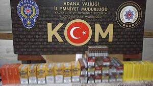 Adanada kaçakçılık operasyonu 6 gözaltı