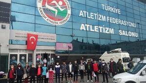 Osmaniyeli atletler, Türkiye derecesiyle döndü