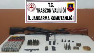 Trabzon'da silah kaçakçılığı operasyonu: 1 gözaltı