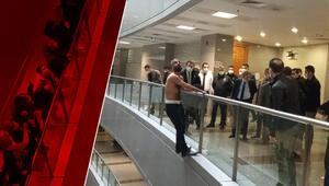 İstanbul Adalet Sarayında hareketli dakikalar