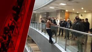 İstanbul Adalet Sarayında intihar girişimi hareketliliği