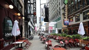 New Yorktaki restoranların iç mekanlarında 19 Marttan itibaren yüzde 50 kapasite kullanılabilecek
