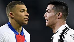 PSGden transferde Cristiano Ronaldo hamlesi Kylian Mbappe...