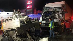 Sakarya'da zincirleme kaza: 1 ölü, 2 yaralı
