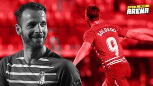 UEFA Avrupa Liginde geceye damga vurdu Roberto Soldado...
