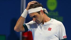 Roger Federer, Dubai Tenis Şampiyonasından çekildi