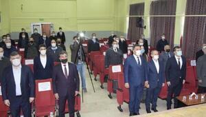 Çayda İstiklal Marşının kabulü töreni