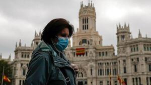 İspanyada koronavirüsten dolayı son 24 saatte 173 kişi hayatını kaybetti