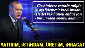 Son dakika: Cumhurbaşkanı Erdoğan açıkladı Esnafa vergi müjdesi, tek haneli enflasyon... İşte önemli Ekonomik Reformlar