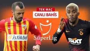 Galatasaray, Kayseriye 6 eksikle gitti Bu maça iddaa oynayanların %57si...
