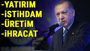 Cumhurbaşkanı Erdoğan yeni dönemi açıkladı Ekonomide dört adımlı reform