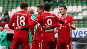 Lider Bayern Münih, Werder Bremen deplasmanından 3 puanla döndü
