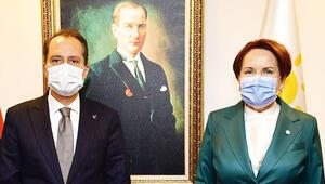 Erbakan, Akşener'i ziyaret etti
