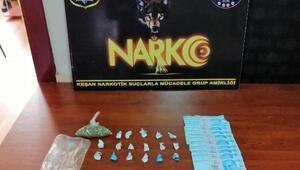 Keşan'daki uyuşturucu operasyonunda 3 gözaltı