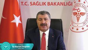 Sağlık Bakanı Fahrettin Kocadan 14 Mart Tıp Bayramı mesajı