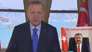 14 Mart Tıp Bayramı... Erdoğan: Aşılamada dünyanın önde gelen ülkelerindeniz