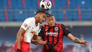Leipzig sahasında Eintracht Frankfurt ile yenişemedi
