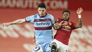 Manchester United, West Ham Unitedı tek golle geçti