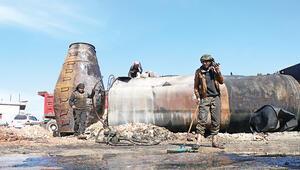 Cerablus ve El Bab yine füzelerle vuruldu