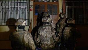 İstanbulda 4 ilçede uyuşturucu operasyonu