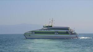 Bursada bazı deniz otobüsü seferleri iptal edildi