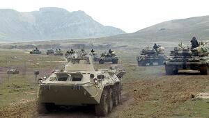 Azerbaycanda dev askeri tatbikat