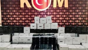 İpsalada 266 adet kaçak cep telefonu ele geçirildi