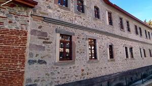 Bizans döneminden kalma tarihi Kiliseli Tüccar Handa restorasyon