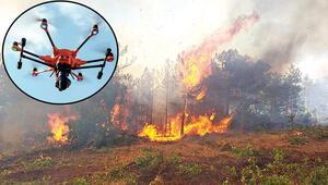 Orman yangınlarına termal kameralı dronlar