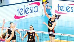 Saugella Monza: 3 - Galatasaray HDI Sigorta: 0