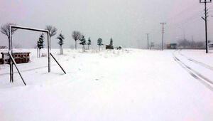 Kırıkkalede yoğun kar yağışı