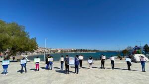 Datçalı öğrencilerden Muğla, mavi olsun kampanyası