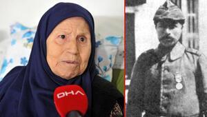 Çanakkale Savaşının kahramanı Müstecip Onbaşının kızı konuştu: Üçüncü atışta vurmuş