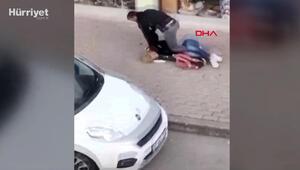 Antalyada bir kişi sokakta tartıştığı  trans bireyi dövdü