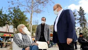 Nizip Belediye Başkanı Sarı'ya vatandaşlardan ilgi