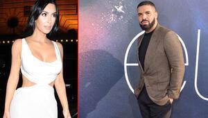 Drake, daha resmi olarak boşanmadan Kim Kardashianın peşine düştü