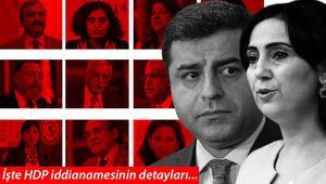 Son dakika... İşte HDP iddianamesinin detayları... Yüzlerce kişiye siyaset yasağı talebi: Demirtaş ve Yüksekdağ da var