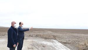Konya Büyükşehir Belediyesi atıl durumdaki tarım arazilerini ekonomiye kazandırıyor