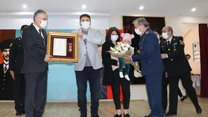 Eskişehirde 6 gaziye Devlet Övünç Madalyası verildi