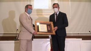 Kırıkkalede, Devlet Övünç Madalyası ve Beratı töreni yapıldı