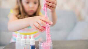 Slime nasıl yapılır Slime malzemeleri ve yapımı