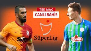 Çaykur Rizesporda 3 eksik Galatasaray maçına iddaa oynayanların %55i...