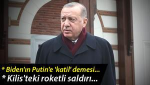 Son dakika... Cumhurbaşkanı Erdoğandan Bidenın Putine katil demesine ilişkin açıklama