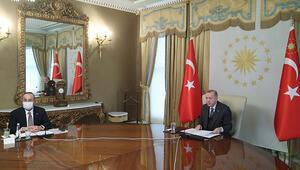 Son dakika... Cumhurbaşkanı Erdoğan, AB Komisyonu Başkanı Von Der Leyen ile görüştü