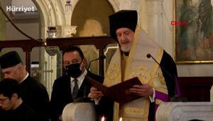 Yeni Kadıköy Metropoliti Adamakis için tören