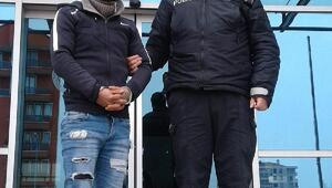 Edirnede çay ocağından televizyon çalan şüpheli tutuklandı