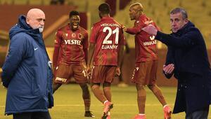 Trabzonspor-Ankaragücü maçına damga vurdu Ekuban ve Djaninyden tarihe geçen goller sonrası rekor...