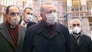 Cumhurbaşkanı'nın Taksim turu